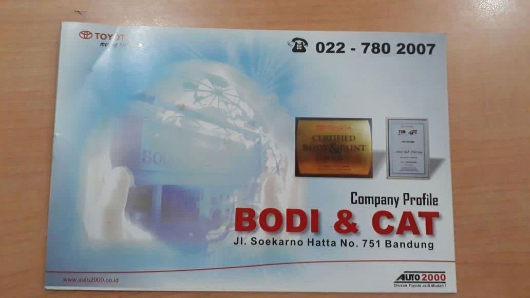 Toyota Bandung, Auto2000 Bodi & Cat