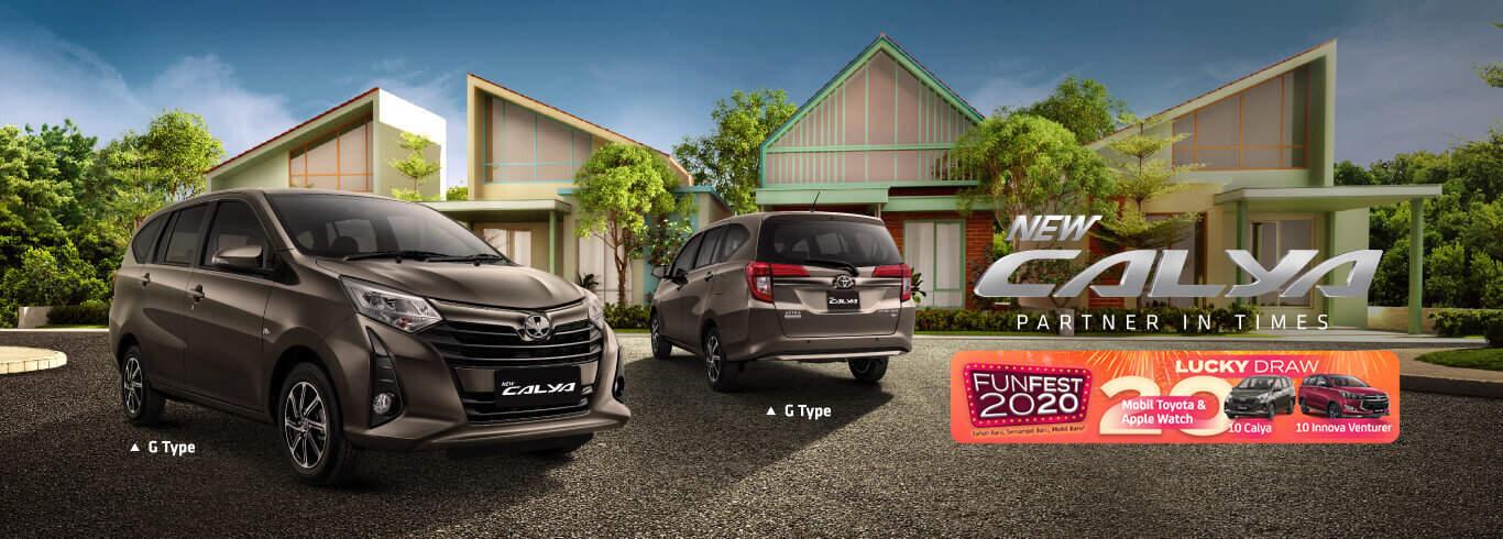 Harga Kredit Toyota Calya 2020 di Bandung