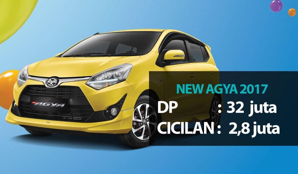 Harga Kredit Toyota Agya Oktober 2017 di Bandung
