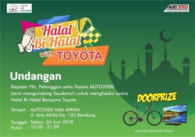 Halal bi Halal Toyota